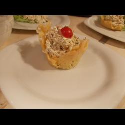 Рецепт: Сырные корзинки