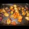 Фото Гарнир из сладкого и обычного картофеля