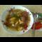 Фото Суп фасолевый с мясными шариками