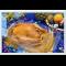 Фото Курица фаршированная на Новый Год
