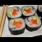 Фото Суши с лососем и авокадо