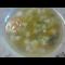 Фото Суп из зеленого горошка на косточке