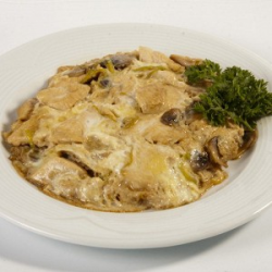 Рецепт: Куриное филе в омлете