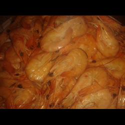 Рецепт: Креветки вареные ароматные
