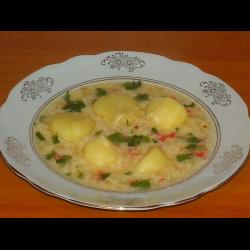 Рецепт: Суп яичный