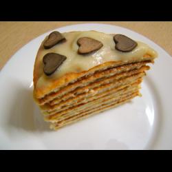 """Рецепт: Творожный торт """"Наполеон"""""""