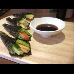 Рецепт: Темаки-суши