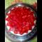 Фото Торт с заливными фруктами