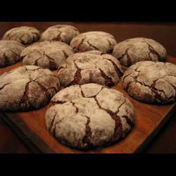 Рецепт: Печенье шоколадное