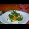 Фото Салат из шпината с запеченным цыпленком