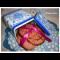 Фото Печенье розовое с клюквой