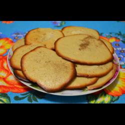 Рецепт: Яблочное печенье с корицей