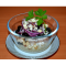 Фото Салат из курицы с кускусом и пряным соусом