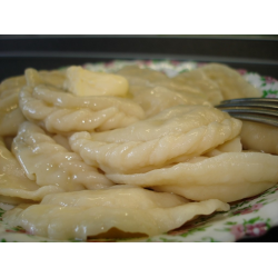 Вареники из сырой картошки рецепт с фото