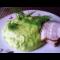 Фото Пюре из зеленого горошка с мятой