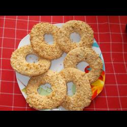 Рецепт: Песочные кольца