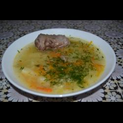 суп из шеи индейки рецепты