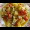 Фото Картофель, запеченный с овощами