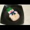 Фото Безбелковая глазурь для куличей и печенья