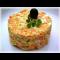 Фото Сырный салат с вермишелью быстрого приготовления