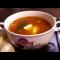 Фото Суп с овощами на мясном бульоне