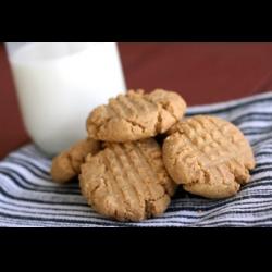 Рецепт: Печенье с арахисовой пастой