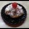 Фото Профитроли с домашним мороженым