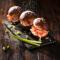 Фото Пончики с крабовым мясом