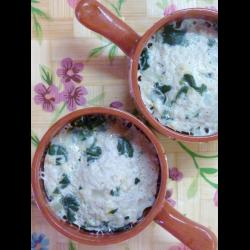 Рецепт: Мини-запеканка из индейки со шпинатом