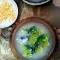 Фото Суп из брокколи с яйцом