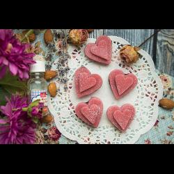 Рецепт: Марципановые сердечки