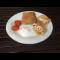 Фото Блины заварные с творожно-фруктовой начинкой