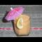 Фото Коктейль из печеной тыквы и банана