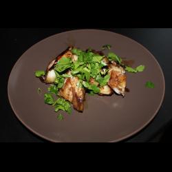 Рецепт: Филе трески в винно-соевом соусе
