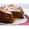 Фото Блинный торт с шоколадным кремом