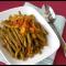 Фото Стручковая фасоль тушеная с овощами