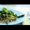 Фото Спагетти с зелеными овощами