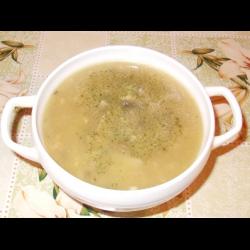 Рецепт: Пшенный суп с грибами