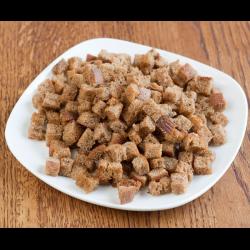Рецепт: Домашние сухарики