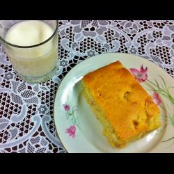 Рецепт: Пирог на жидком тесте