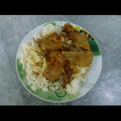 Рецепт: Курица тушеная по-домашнему