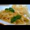 Фото Тальятелле со сливочным соусом и пармезаном