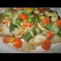 Рецепт: Мексиканская смесь с куриным филе