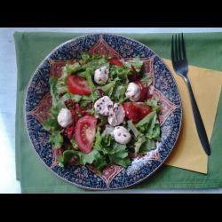 Рецепт: Салат с овечьим сыром