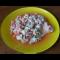 Фото Салат из курицы и помидоров