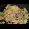 Фото Паста баветте с креветками и сливочно-овощным соусом