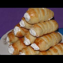 Рецепт: Пирожное трубочки