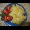 Фото Нежная рыбка тушеная с картофелем