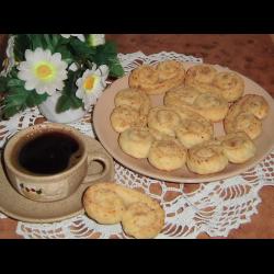 """Рецепт: Творожное печенье """"Завитки"""""""