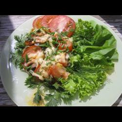 Рецепт: Овощи, запеченные с грибами и сыром